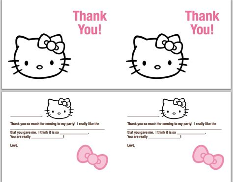 make a thank you card free defrump me hello continued free printables
