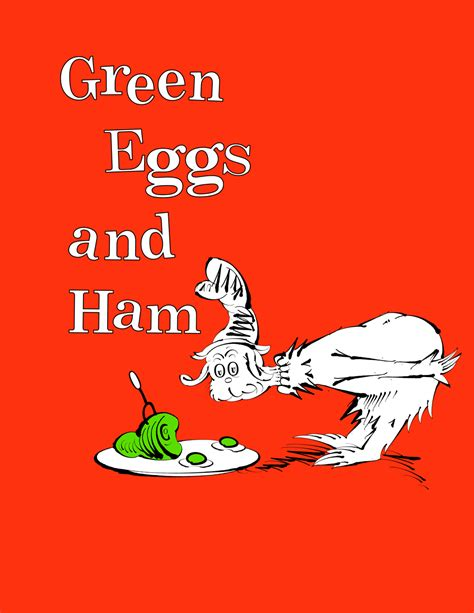 green eggs and ham pictures from the book typography by william swygart at coroflot