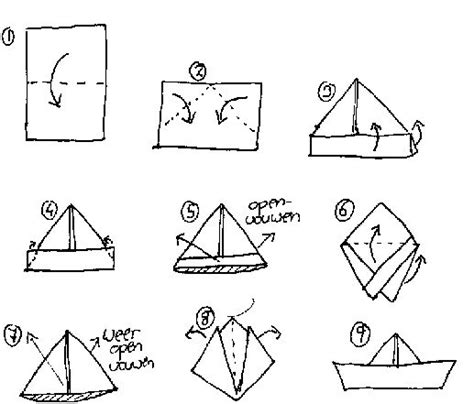 how to fold a boat origami forgot how to fold a boat kreative