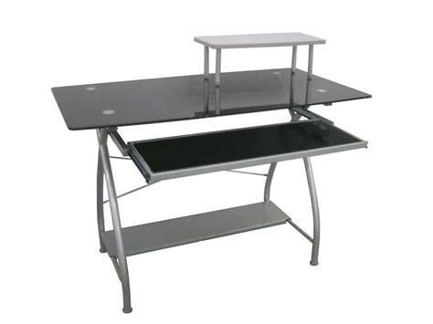 easy2go corner computer desk glass computer desk staples easy2go glass top computer