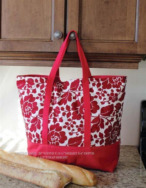 free knitting bag patterns to sew the martha market bag free pdf sewing pattern