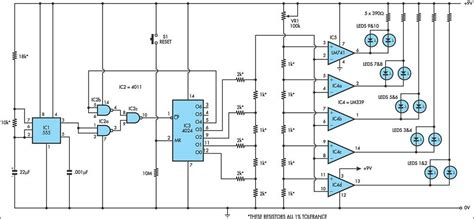 lights circuit led lights circuits with lm339 ic555 schematic rise