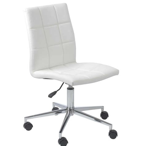 white leather desk chair office chairs white leather office chairs