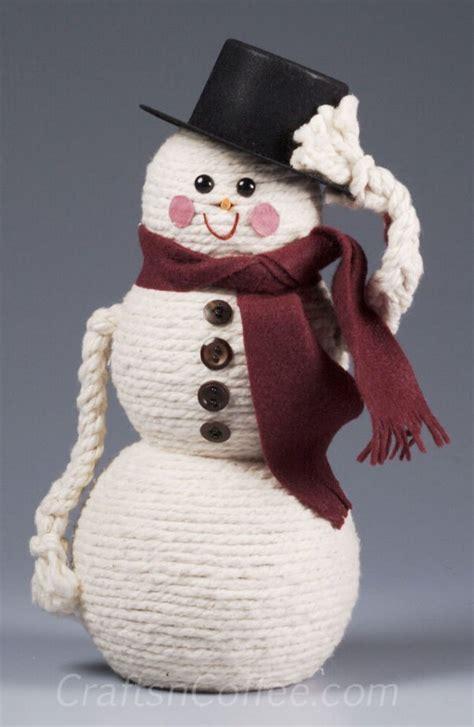 snowman crafts for to make 25 diy snowman craft ideas tutorials