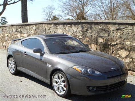2007 Hyundai Tiburon Gt by 2007 Hyundai Tiburon Gt In Carbon Gray 245458 Autos Of