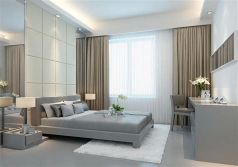 modern bedroom curtains magnificent modern bedroom curtains ideas atzine