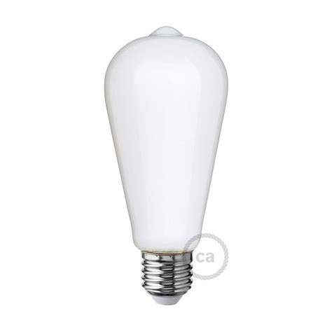 led white light bulb led white light bulb edison st64 6w e27 dimmable