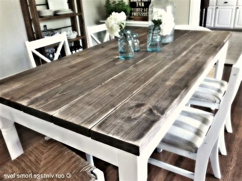 make a dining room table how to make a dining room table