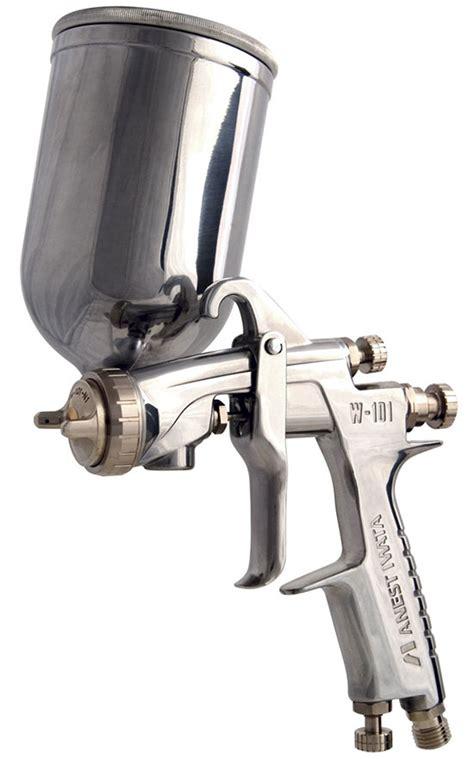 spray painting your gun anest iwata manual air spray compact gravity guns