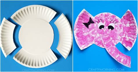 paper plate elephant craft paper plate elephant craft for how to