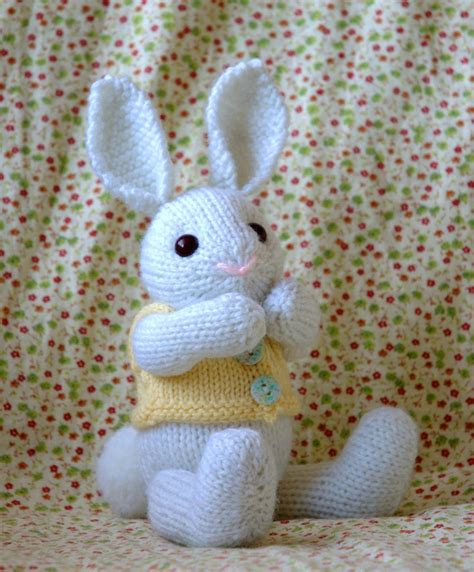 easter free knitting patterns knitting pattern easter bunny pdf file by fuzzymitten on etsy