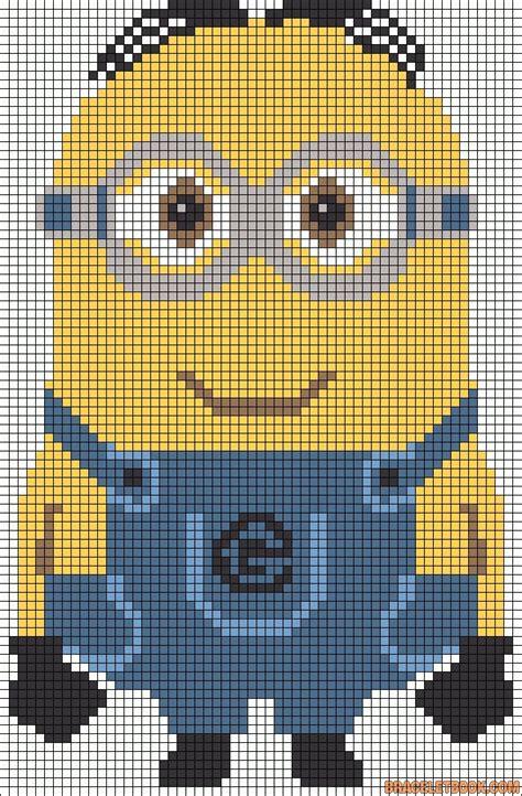 minion bead pattern 17 best ideas about minion pattern on crochet
