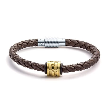 jewelry bracelets aagaard mens jewelry leather bracelet no 1215 landing