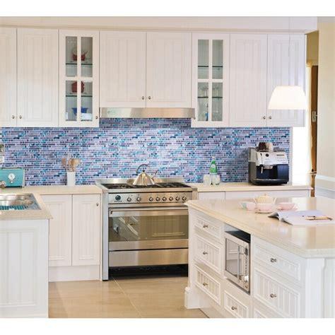 blue kitchen tiles ideas blue glass mosaic wall tiles gray marble tile kitchen backsplash bravotti