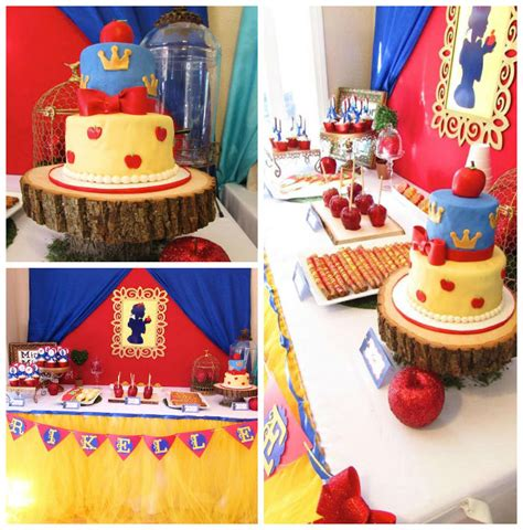 snow themed decorations kara s ideas snow white themed birthday