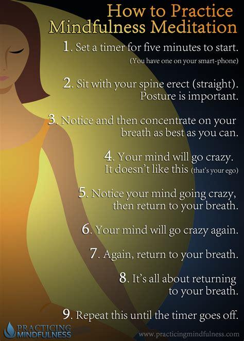 meditation how to use how to do mindfulness meditation practicing mindfulness