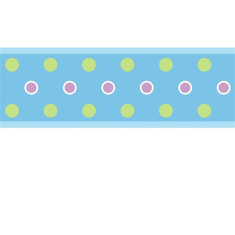 Wall Border Stickers dot wall sticker border blue stickers for wall com