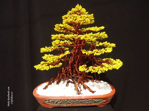 beading tree beaded plants and craft ideas