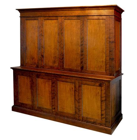 large cabinet with doors a large tv cabinet with retractable doors by dan mosheim