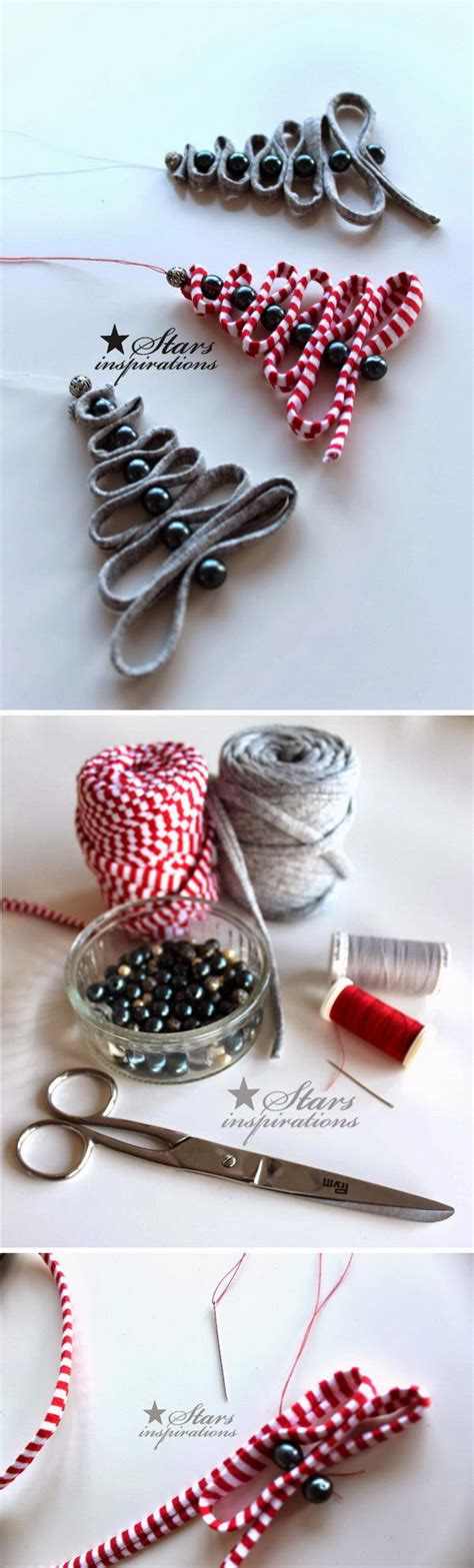 ribbon bead tree ornaments easy creative diy projects that can do
