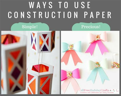 crafts to make with construction paper 7 ways to use construction paper favecrafts