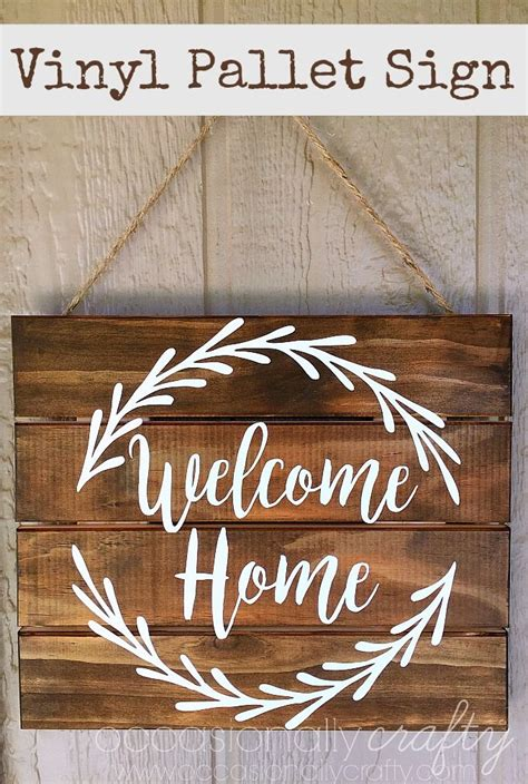wooden signs home decor 25 best ideas about welcome home signs on diy