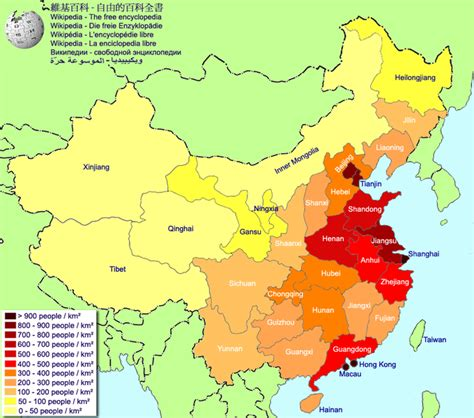 of china map of china population density worldofmaps net