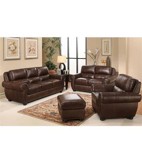leather living rooms sets living room sets 4 leather set