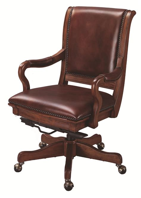home office furniture richmond va aspenhome richmond leather upholstered caster office chair