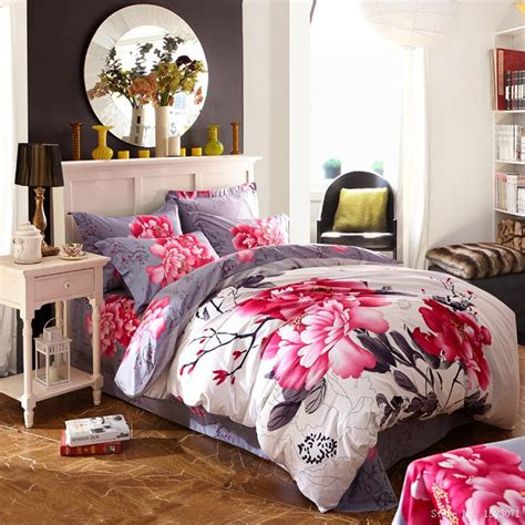 cherry blossom comforter set aliexpress buy cherry blossom sunflower bedding set