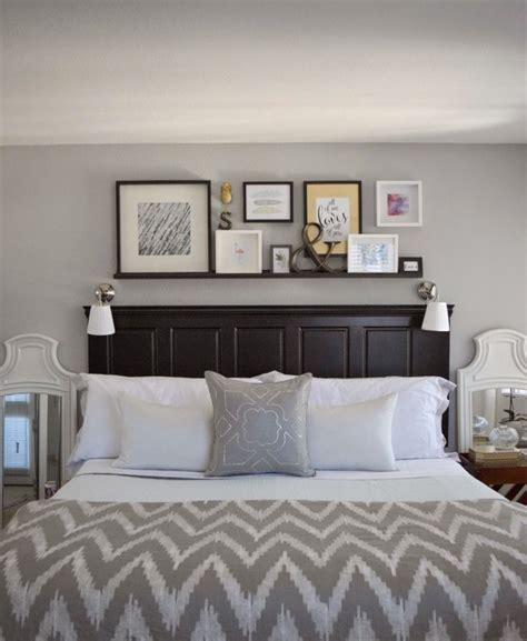 how to decorate your bedroom door 25 best ideas about headboard shelves on bed