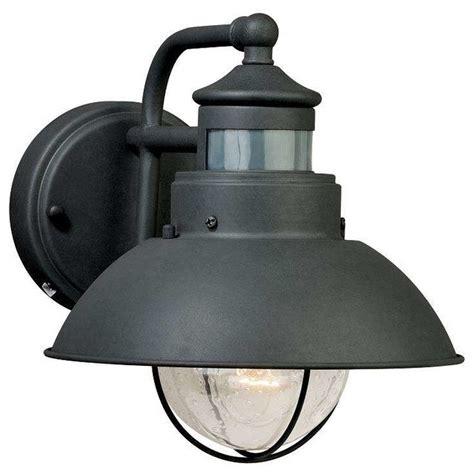industrial lighting outdoor vaxcel lighting t0126 harwich outdoor motion sensor wall