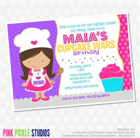 cupcake decorating birthday invitations lijicinu