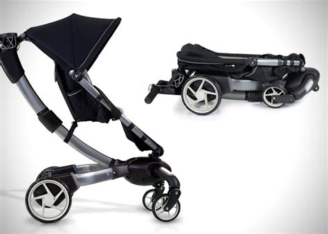 origami baby stroller origami power folding stroller by 4moms hiconsumption