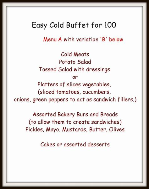 wedding buffets menus best 25 cold buffet ideas ideas on food