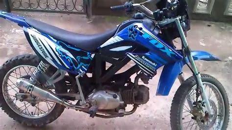 Modifikasi Motor Bebek by Hasil Modifikasi Motor Bebek Menjadi Trail