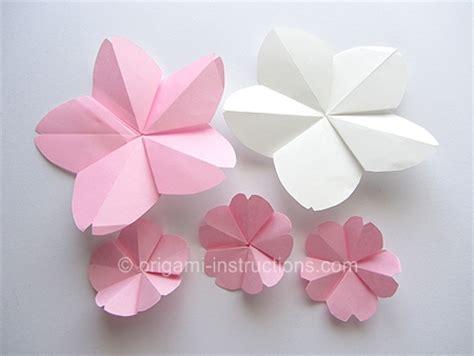 cherry blossom origami origami june 2013