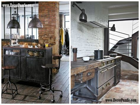 industrial decor industrial style kitchen decor and furniture top secrets