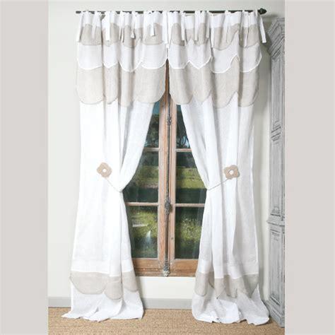 rideaux et voilages rideau p 226 querette blanc