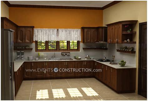 kitchen design kerala houses evens construction pvt ltd modern kerala kitchen interior