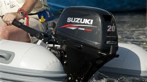 20 Hp Suzuki Outboard by Suzuki Brings Electronic Ignition To 20hp Outboards