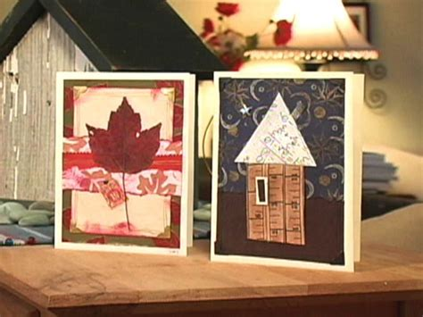 how to make handmade greeting cards how to make collage greeting card designs hgtv