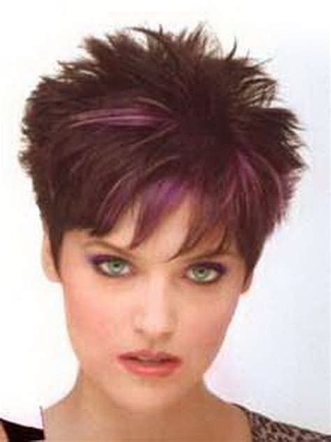 haircuts that are easy to maintain short spiky hairstyles for women