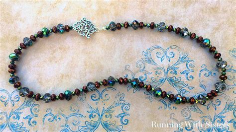how do you make jewelry learn to make jewelry beautiful easy beaded necklace