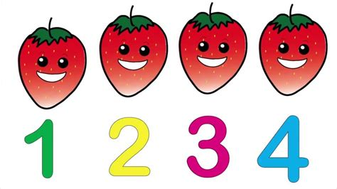 for counting counting fruit song and lesson children s education