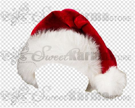Hanging Toilet Paper Holder santa hat cap sparkly png transparency sweetkarma store