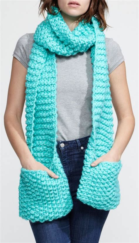 scarf with pockets knitting pattern mint scarf pockets and scarfs on