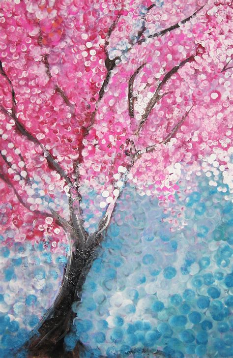 cherry blossom tree by t r bandit on deviantart