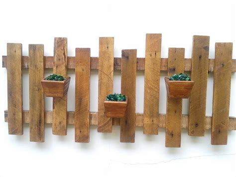 garden wall hangings hanging pallet wall planters