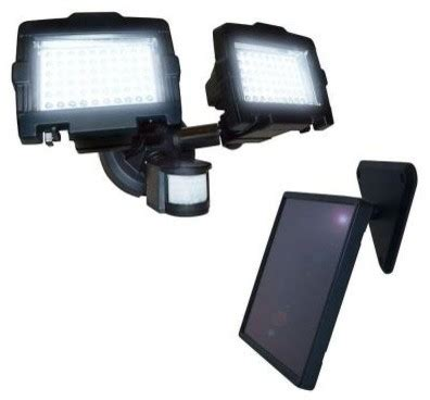 home depot solar flood lights nature power flood lights 120 led outdoor black solar